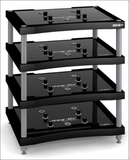 audiom bel von creaktiv hifi racks mit kabel management. Black Bedroom Furniture Sets. Home Design Ideas
