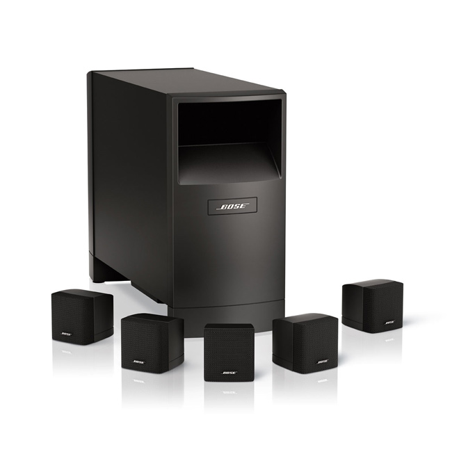 bose acoustimass 6 serie iii farbe schwarz farbe. Black Bedroom Furniture Sets. Home Design Ideas