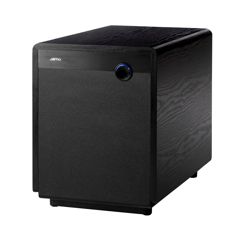 jamo sub 300 kompakter kr ftiger subwoofer farbe dark apple hifi regler. Black Bedroom Furniture Sets. Home Design Ideas