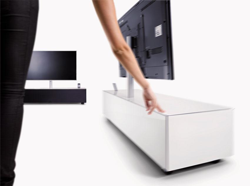 spectral sc 1100 sl scala exclusives tv lowboard farbe glas b den korpus schwarzglas. Black Bedroom Furniture Sets. Home Design Ideas