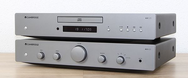 Cambridge Audio AXA25 und AXC25
