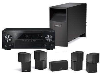 bose am 10 pioneer paket hifi regler. Black Bedroom Furniture Sets. Home Design Ideas