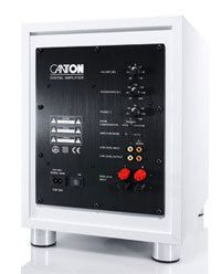 Canton SUB 6.2 aktiver Subwoofer St/ück 60//120 Watt weiss