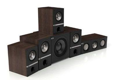kef q300 5 1 system 5 1 heimkino lautsprecherset farbe schwarz hifi regler. Black Bedroom Furniture Sets. Home Design Ideas