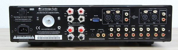 Cambridge Audio Azur 851A Rueckseite
