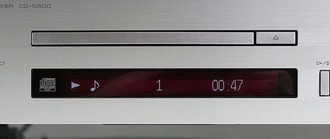 Display des Yamaha CD-N500